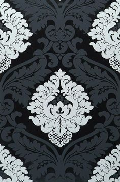 This opulent Baroque design is an enrichment for any wall. Damask Wallpaper, Wallpaper Samples, Home Wallpaper, Pattern Wallpaper, Motif Baroque, Baroque Design, Fabric Painting, Painting & Drawing, Design Elements