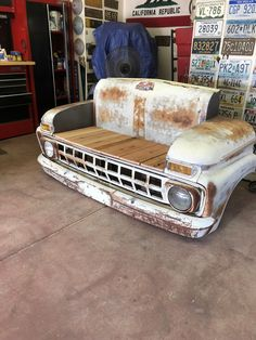 Man Cave Furniture, Car Part Furniture, Automotive Furniture, Automotive Decor, Man Cave Bathroom, Man Cave Room, Man Cave Bar, Handmade Furniture, Rustic Furniture