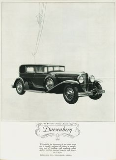 1929 Duesenberg Model J Sedan by Derham