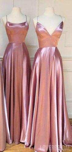 Mismatched Dusty Rose Cheap Bridesmaid Dresses Online, WG772#bridesmaids #bridesmaiddress #bridesmaiddresses #dressesformaidofhonor #weddingparty #2020bridesmaiddresses