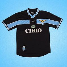 "2608d13c36f26b Football Shirt Collective on Instagram: ""1998 Lazio x Puma . M . 🔥 First  player you think of? #lazio #seriea #90sfootball #vintagefootball #calcio  #italy ..."