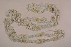 Beaded Chain | Adornment | 1947.230 -- Historic New England