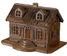 19th Century Folk Art House England 1890