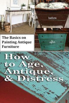 Antique Furniture Stores, Painting Antique Furniture, Antique Beds, Mirrored Furniture, Old Furniture, Online Furniture, Furniture Makeover, Vintage Furniture, Hippie Chic Decor