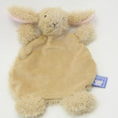 A delightful bunny lovie! tall - just perfect for little ones to snuggle up and hold. Machine washable for when it gets just a little TOO much love. Fat Bunny, Baby Bunnies, Baby Christening Gifts, Baby Gifts, Catholic Baptism, First Communion Gifts, Religious Gifts, Snuggles, Little Ones