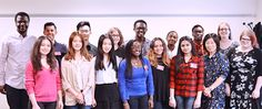 Our inspiring International students get together for the 2016 NCUK Ambassador Conference   NCUK