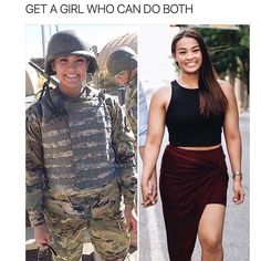 find a girl who can do both