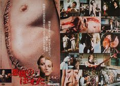 Andy Warhol's Frankenstein 1974 Japanese B3 Poster