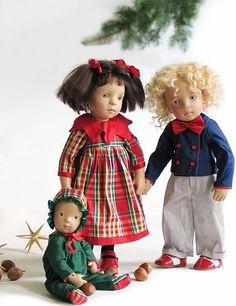 Сотрудничество Сильвии Наттерер с компанией Zwergnase. Часть 1. Год 2004 / Sylvia Natterer, Сильвия Наттерер. Коллекционно-игровые куклы / Бэйбики. Куклы фото. Одежда для кукол