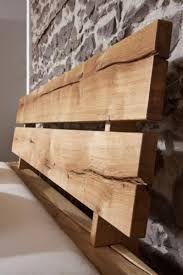 Massivholzbetten rustikal  JANGALI Balkenbett mit Bettkasten #130 160x200cm Wildeiche ...