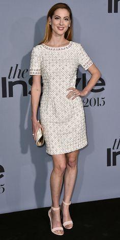 Eva Amurri Martino in Tory Burch attends the Instyle Awards in L.A. #bestdressed