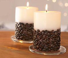 Vanille Kaffee Duftkerzen