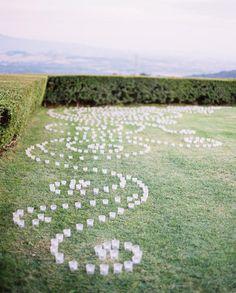 wedding decor... candles