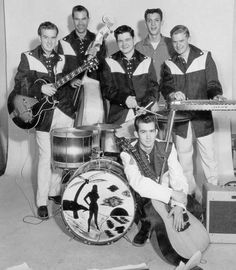 Eddie Bond and The Stompers (maybe 1956) ... Love Love Love, Boppin' Bonnie, Slip, Slip, Slippin' In