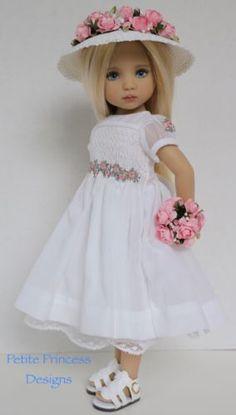 "Smocked-Ensemble-for-Effner-13"" Little-Darling-Dolls-Petite-Princess-Designs"
