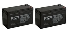 Universal Power Group Battery for Henes Broon RC Ride On Toy Car Model - 2 Pack