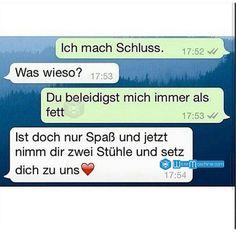 Lustige WhatsApp Bilder und Chat Fails 61 - Fette Freundin verarschen