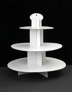 THIS ITEM IS FINAL SALE Let your cupcake creations stand out with this Cupcake Stand. Quick and easy to set up, this cardboard cupcake stand can hold approximately 28 to 32 standard cupcakes or 50 to 54 mini cupcakes. Diy Wedding Cupcakes, Cool Wedding Cakes, Beautiful Wedding Cakes, Gorgeous Cakes, Wedding Cake Toppers, Mini Cupcakes, Wedding Favors, Big Cakes, Fancy Cakes