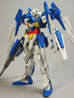 "MG 1/100 Gundam AGE-2 Normal ""Original System/ Wing Form"" Custom Build - Gundam Kits Collection News and Reviews"