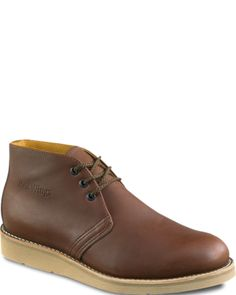 595 Men's Chukka from Red Wing Shoes    I think that these are a little too smooth, but if one were to purchase and then use them, I believe they would develop some nice patterning and wrinkling.