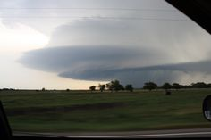 Stacked Plates Cloud In Thunderstorm On July 23 2013 Over Hutchinson KS