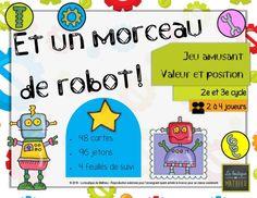 un morceau de robot-page-001 Robot, Cards, Atelier, Robotics, Robots