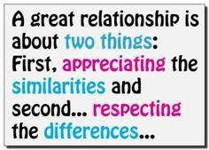#relationship #quotes #appreciating #respecting