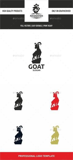 Goat — Vector EPS #shop #cool • Available here → https://graphicriver.net/item/goat/13688289?ref=pxcr