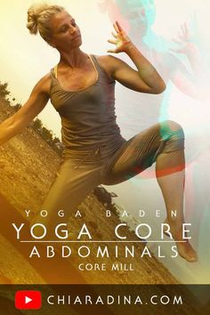 Get strong Abs fast! In this 11 minute Abdominal Centering & Strengthening class you get the quick boost you are looking for! Enjoy this demanding Yoga Core Flow whenever in need to find clarity and strong focus! #coreworkout #abdominals #strongcenter #chiaradina
