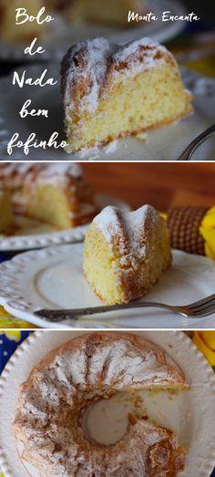 Não há maior felicidade no mundo, do que terminar o dia com um bolo de nada bem fofinho e um café fresco. Tem? Tem não senhor!