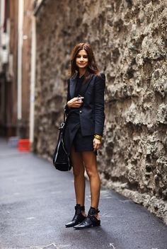 How to Chic: HOW TO WEAR CUT OUT BOOTIES