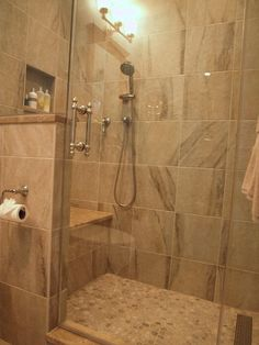 Bathroom Designs With Stand Up Shower newly remodeled stand up shower with beautiful tile work