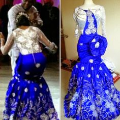 Check Out Beautiful Wedding Gown Dress  Read Mor >>> http://www.dezangozone.com/2015/04/check-out-beautiful-wedding-gown-dress.html ~Latest African Fashion, African Prints, African fashion styles, African clothing, Nigerian style, Ghanaian fashion, African women dresses, African Bags, African shoes, Nigerian fashion, Ankara, Kitenge, Aso okè, Kenté, brocade. ~DKK