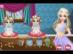Frozen Elsa Twins Care - Frozen Baby Care Games For Kids