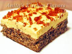 Kitchen Flavors: Prajitura Galbena Romanian Desserts, Romanian Food, Romanian Recipes, Sweet Recipes, Cake Recipes, Dessert Recipes, Hungarian Cake, Bread Cake, Pastry Cake