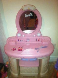 Barbie Vanity (Must Sell ASAP)