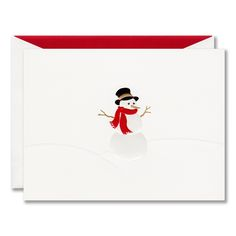Tumbling santa boxed holiday greeting cards fun and festive santa snowman boxed holiday greeting cards limitedpapers m4hsunfo