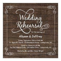 Shop Chalkboard Wedding Rehearsal Dinner Invitations created by weddingtrendy. Personalize it with photos & text or purchase as is! Chalkboard Wedding Invitations, Country Wedding Invitations, Rustic Invitations, Wedding Stationary, Dinner Invitation Template, Rehearsal Dinner Invitations, Rehearsal Dinner Centerpieces, Wedding Centerpieces, Wedding In The Woods
