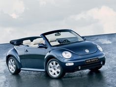 VW New Beetle Convertible. What the heck, at my age.a convertible! Volkswagen New Beetle, Beetle Car, Blue Beetle, My Dream Car, Dream Cars, Vw Usa, Volkswagen Convertible, Vw Cabrio, Vw Beetle For Sale