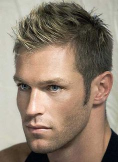 Mens short blonde hairstyles 2013 but could prob do it with sun bleached brunette