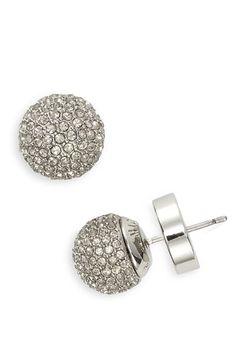 Pavé Ball Stud Earrings