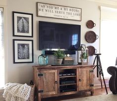 How to Decorate Around a TV {An Option for Every Style   COOL Crafts ...