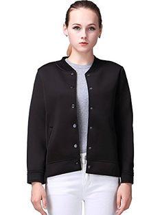 Miya memory Lightweight Space Cotton Women jacket, Baseball Jersey jackets Women Coat - http://www.darrenblogs.com/2016/08/miya-memory-lightweight-space-cotton-women-jacket-baseball-jersey-jackets-women-coat/