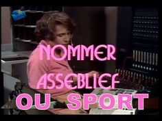 Nommer Asseblief (Ou Sport) 1979 TV-reeks