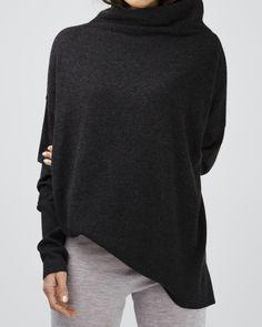 cashmere oversized turtleneck jumper