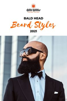 A beard can be a great way to fill that in the gaps in style that a receding hairline left behind. Read on to learn 6 great #beardstyles Great Beards, Awesome Beards, Beard Growth, Beard Care, Beard Styles For Men, Hair And Beard Styles, Bald Head With Beard, Badass Beard, Best Beard Oil