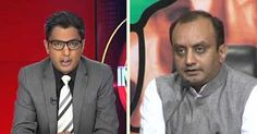 """BJP Pro-Killing Of Anti-Nationalists, Says Spokesperson Sudhanshu Trivedi Live On CNN-IBN"""
