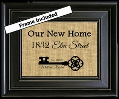 Hey, I found this really awesome Etsy listing at https://www.etsy.com/listing/385670590/framed-skeleton-key-our-new-home-burlap