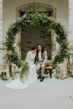Modern Moody Spring Wedding Shoot