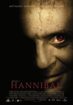 Hannibal, 2001. Not quite finished this one, which is the last of the four films. Has Julianne Moore instead of Jodie Foster, which is disappointing. Great so far!